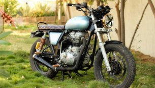 Royal Enfield Continental GT 'Rudra' by Nomad Motorcycles