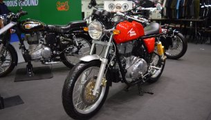 Royal Enfield Continental GT & Royal Enfield Classic 500 Redditch at 2017 Thai Motor Expo - Live