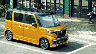 New Suzuki Spacia & Suzuki Spacia Custom launched in Japan