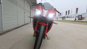 1-4 month waiting period for TVS Apache RR 310 - Report