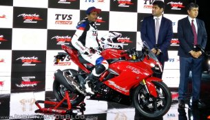 TVS Apache RR 310 launched in India at INR 2.05 lakhs