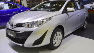 Toyota Yaris Ativ at 2017 Thai Motor Expo - Live