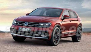 VW Tiguan Coupe R-Line - Rendering
