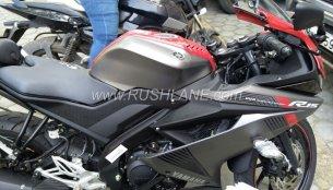 Yamaha R15 v3.0 visits a dealership in India