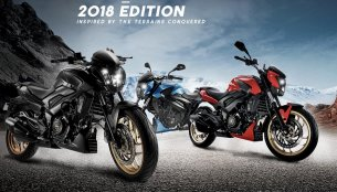 2018 Bajaj Dominar 400 launched officially