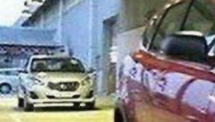 2018 Datsun Go (facelift) spied in Indonesia