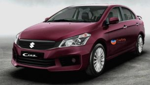 2018 Maruti Ciaz (facelift) rendered in new colours