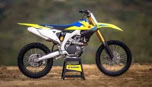 2018 Suzuki RM-Z450 to be showcased at the 2018 Auto Expo