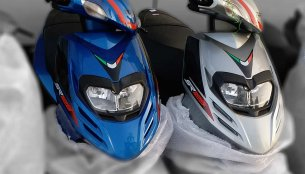 IAB reader spots the Aprilia SR 125 at a dealership