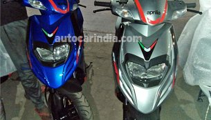 Aprilia SR 125 India launch in few weeks - Report