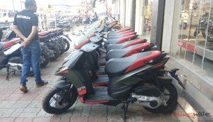 Aprilia SR 150 Green colour variant spotted - Report