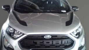 Ford EcoSport Storm 4WD's exterior & interior leaked
