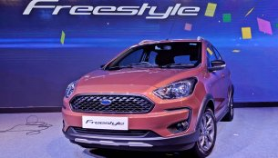 Ford Freestyle makes world debut in India