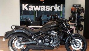 Kawasaki Vulcan S arrives at dealership ahead of its official unveil
