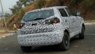 Mahindra S201 sub-4 metre SUV spied, to go on sale this year