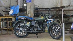 Royal Enfield Electra 350 '86 Mania' by Maratha Motorcycles