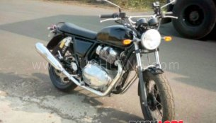 Royal Enfield Interceptor INT 650 spied testing in India
