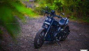 Royal Enfield Thunderbird 350 'Nataraj' by Maratha Motorcycles