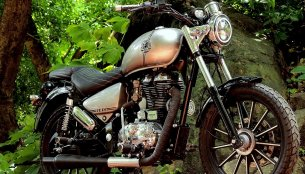 Royal Enfield Thunderbird 350 'Stellar' by JEDI Customs