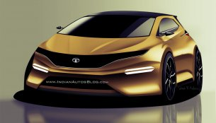 Tata X451 Premium hatchback - IAB Rendering