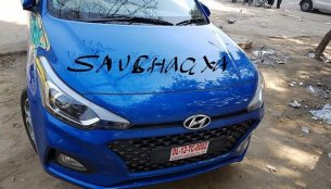 2018 Hyundai i20 (facelift) spied completely undisguised again