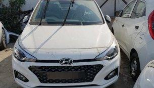 2018 Hyundai i20 (facelift) spotted sans camouflage