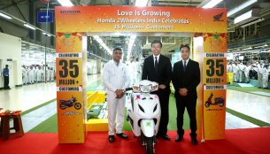 Honda Two-wheelers crosses 35 million sales mark in 17 years