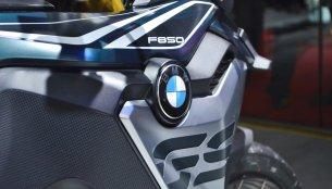 BMW F 750 GS & BMW F 850 GS - Auto Expo 2018 Live