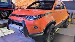 Mahindra KUV100 Adventure Edition showcased