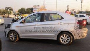 Export-spec 2018 Ford Aspire (2018 Ford Figo Sedan) spied on test