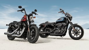 Harley-Davidson Iron 1200 & Harley-Davidson Forty-Eight Special Unveiled