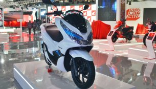 Honda PCX Electric Concept - Auto Expo 2018 Live