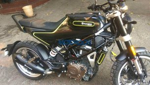 Husqvarna Svartpilen 401 spotted; clearest images yet