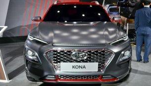 Hyundai Kona showcased at Auto Expo 2018
