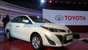 Toyota Yaris sedan unveiled in India, to launch in April this year