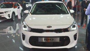 Kia Rio - Auto Expo 2018 Live