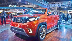 Mahindra TUV Stinger concept - Auto Expo 2018 Live