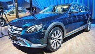 Mercedes E-Class All-Terrain - Auto Expo 2018 Live