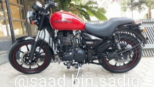 Royal Enfield Thunderbird 350X spied ahead of launch
