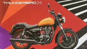Royal Enfield Thunderbird X brochure leaked