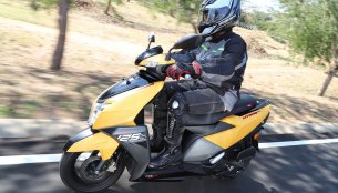 TVS Ntorq 125 first ride review