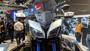 Yamaha MT-09 Tracer - Auto Expo 2018 Live