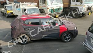 2018 Hyundai Creta (facelift) with sunroof and new alloy wheels spied