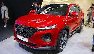 2018 Hyundai Santa Fe showcased at 2018 Geneva Motor Show