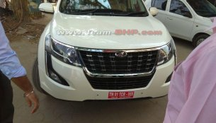 2018 Mahindra XUV500 (facelift) to be sold in at least four main grades - Report