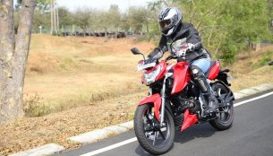 2018 TVS Apache RTR 160 4V - First ride review