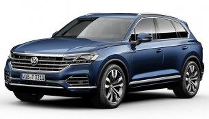 2018 VW Touareg makes world premiere in Beijing