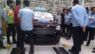 Current Ford Aspire production comes to an end
