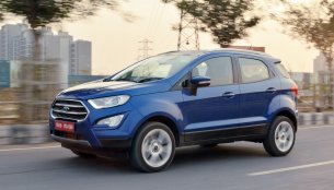 Ford EcoSport Titanium+ Petrol Manual launched at INR 10.47 lakhs