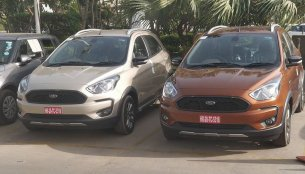 Ford Freestyle spotted in multiple colours ahead of April launch